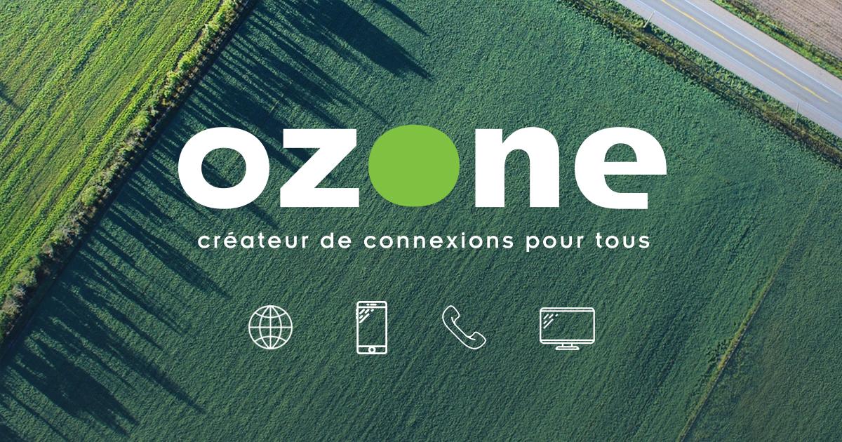 Fouine Informatique partenaire Ozone en fibre optique sur le 74